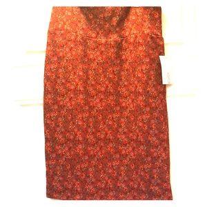 Lularoe NWT small patterned skirt